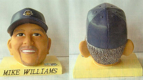 RiverDogs fans can grow cultivate groundskeeper Mike Williams' head.