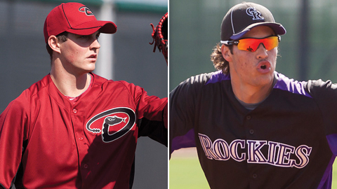 Trevor Bauer and Nolan Arenado were drafted in 2011 and 2009, respectively.