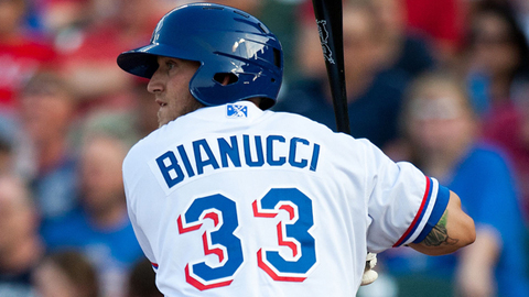 Mike Bianucci is batting .417 with five RBIs in three games.