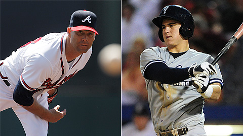 Tim Hudson pitched four innings and Tyler Austin homered twice.