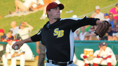Archie Bradley leads the Midwest League with 63 walks in 98 2/3 innings.