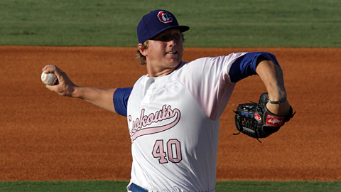 New Phillie Ethan Martin is second in the Southern League in strikeouts.