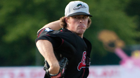 Greg Wilborn is 1-1 with a 4.57 ERA in four starts for Great Lakes.